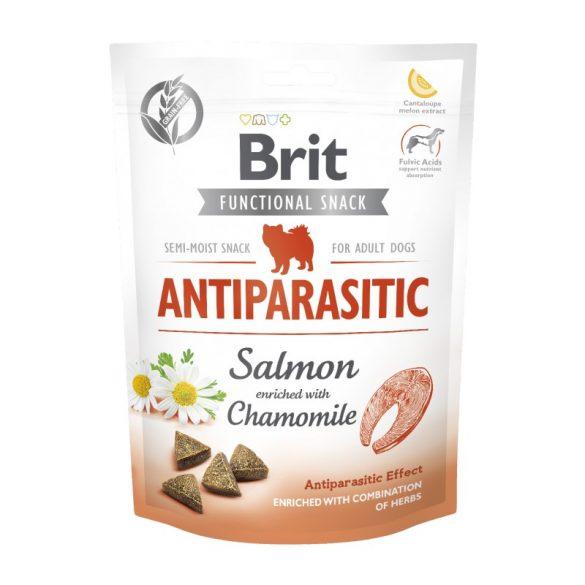 Brit Care Functional Snack Antiparasitic - Lazac és kamilla