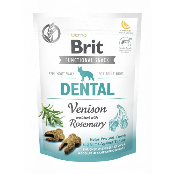 Brit Care Functional Snack Dental - Szarvas és rozmaring