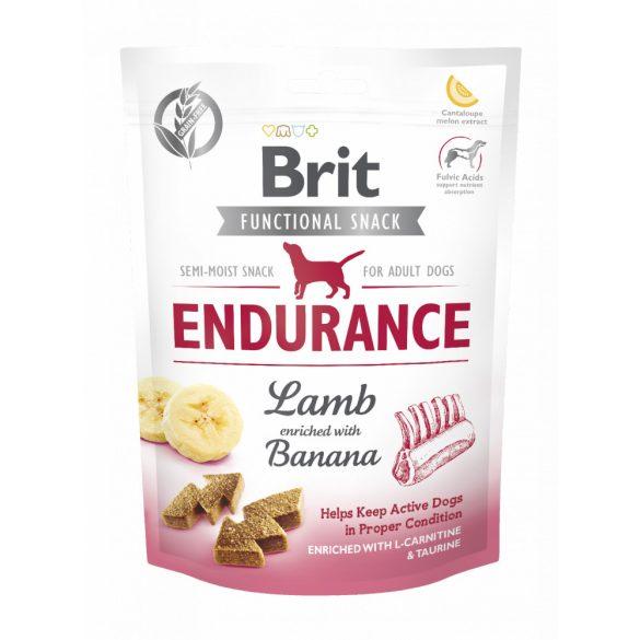 Brit Care Functional Snack Endurance - Bárány és banán