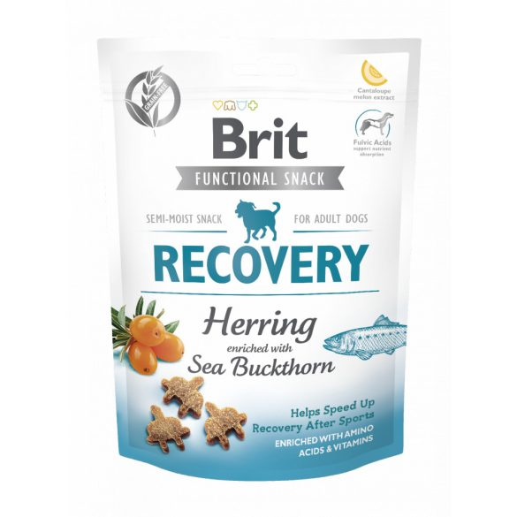 Brit Care Functional Snack Recovery - Hering és homoktövis