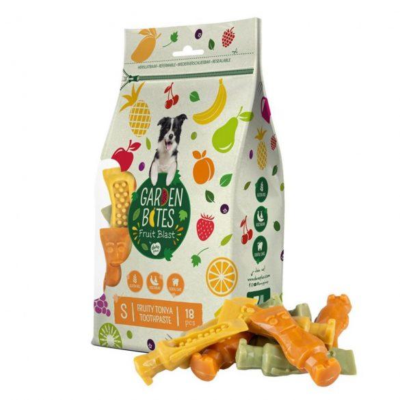 DUVO+ Garden Bites Fruity Tonya, a fogkrém tubus fogtisztító - S