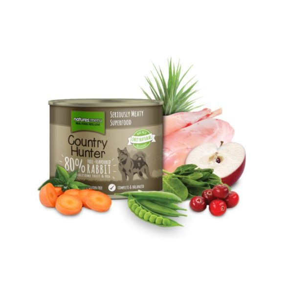 Country Hunter Nyúl - Vörösáfonya párolt menü