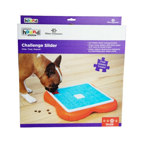 Nina Ottosson Challenge Slider fejtörő kutyajáték